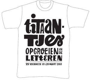 Boekenweek t-shirt