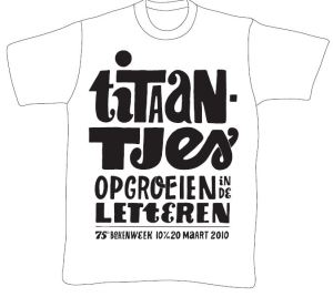 Boekenweek t-shirt