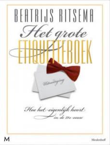 Het grote etiquetteboek van Beatrijs Ritsema