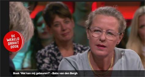 Babs van den Bergh in DWDD